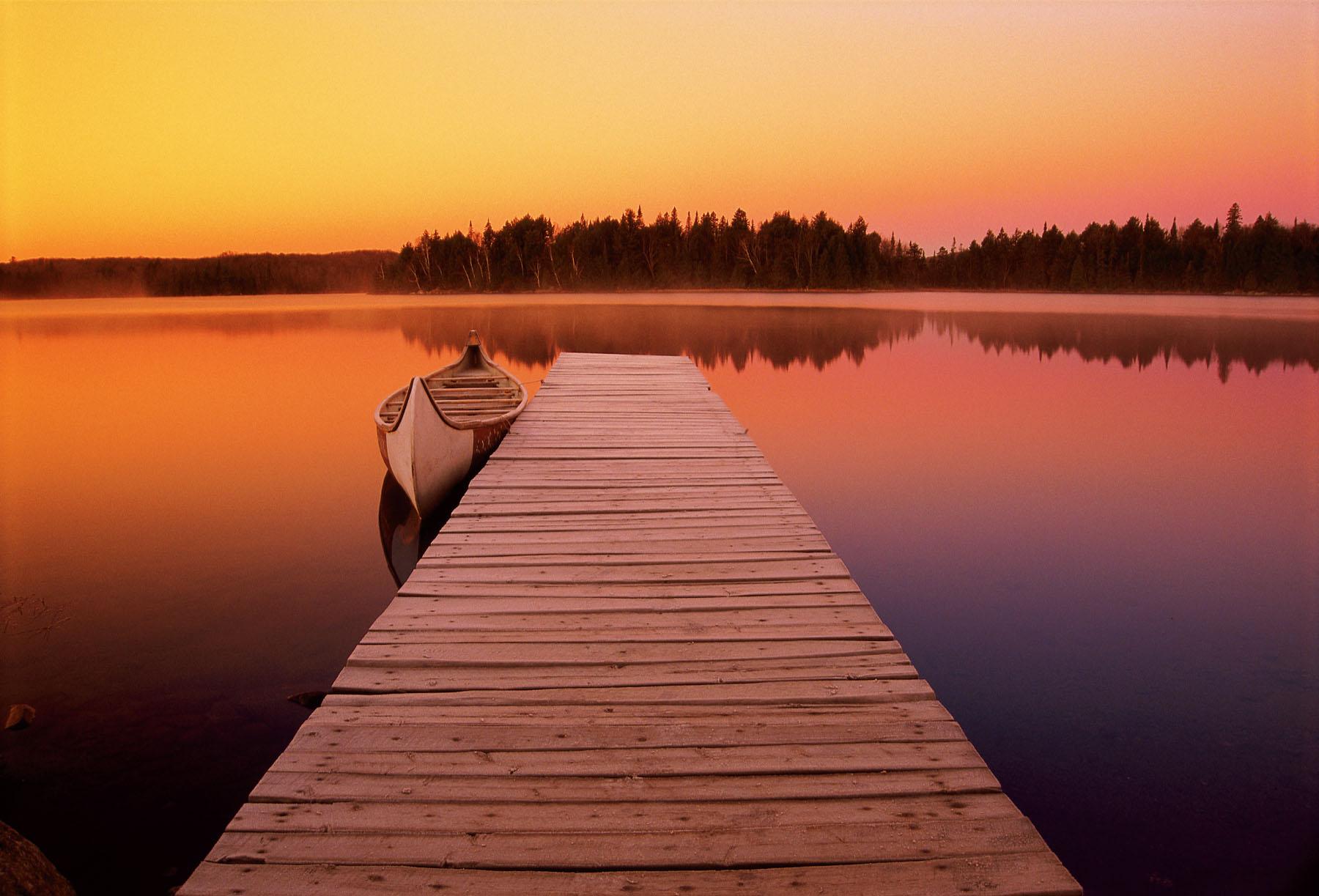little canoe-at-dawn1